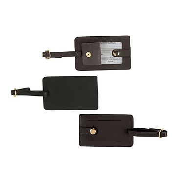 Royce Leather Snap Luggage Tag