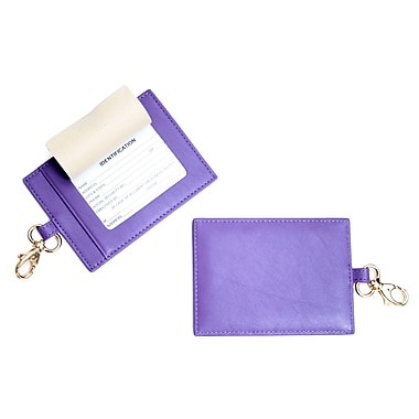 Royce Leather The Big Tag Purple