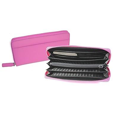 Royce Leather Women's Wallet, Black