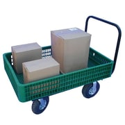 "Farm Tuff polypropylene 30"" x 46"" Garden Cart Green"