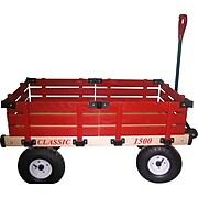 "Millside Industries Hardwood 38"" x 20"" Wooden Wagon"