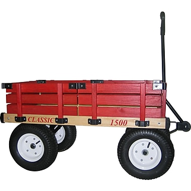 Millside Industries Classic Kids Wagon with 5