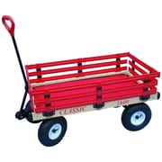 "Millside Industries Hardwood 20"" x 38"" Kids Wagon Racks"
