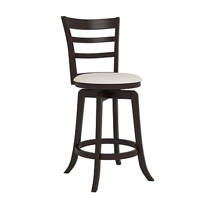 CorLiving Three Bar Design Wooden Barstool 38
