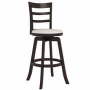 "CorLiving Three Bar Design Wooden Barstool 43"""