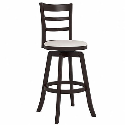 CorLiving Three Bar Design Wooden Barstool 43