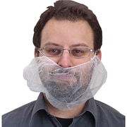 Zenith Safety® Disposable Beard Nets, One String Behind Head, 2000/Pack