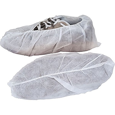 Zenith Safety® Shoe Covers, Regular Sole, Large, 1000/Pack