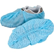 Zenith Safety Non-Conductive Shoe Covers, Skid-Free Sole, X-Large, 1000/Pack