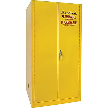 Zenith SafetyMD – Armoire pour produits inflammables, 60 gallons
