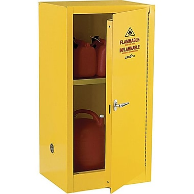Zenith SafetyMD – Armoire pour produits inflammables, 16 gallons