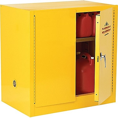 Zenith SafetyMD – Armoire pour produits inflammables, 22 gallons