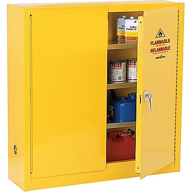 Zenith SafetyMD – Armoire pour produits inflammables, 24 gallons