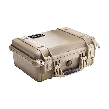 Pelican™ Shipping Box With Foam, Desert Tan