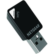 Netgear® A6100 Wi-Fi USB Mini Adapter, 433 Mbps, 1-Port