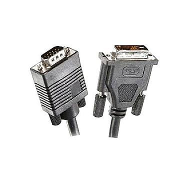 STEREN® 15' DVI-A to SVGA DE15HD Monitor Cable, Black