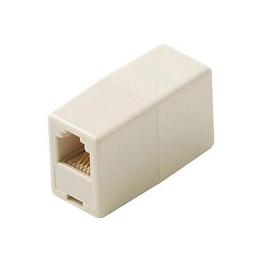 STEREN® Telephone Coupler Adapter, Ivory