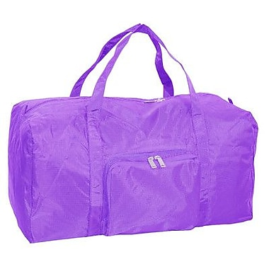 Netpack 21'' U-Zip Travel Duffel; Purple