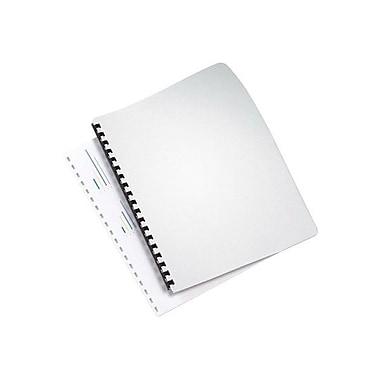 GBCMD - Couverture de présentation Linen Weave, blanc