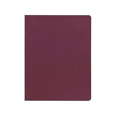 GBCMD - Couverture de présentation Linen WAV, bourgogne