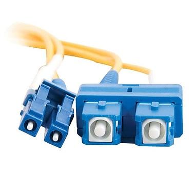 C2G® Fiber Optic Cable, 10m, Yellow