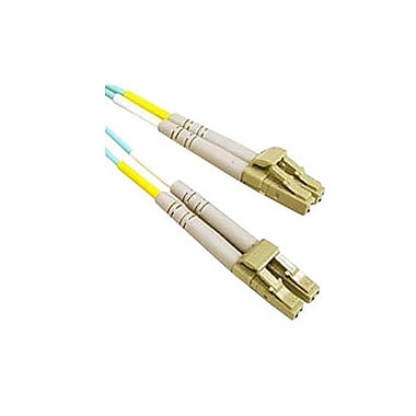 C2G®Fiber Optic Cable, 10m, Aqua