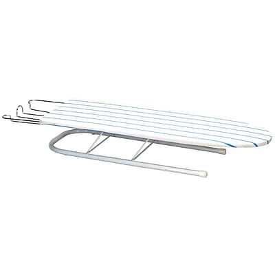 Household Essentials® Deluxe Pressboard Tabletop U-Leg Ironing Board, White