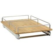 "Household Essentials® Glidez 14 1/2"" Bamboo Sliding Organizer, Natural"