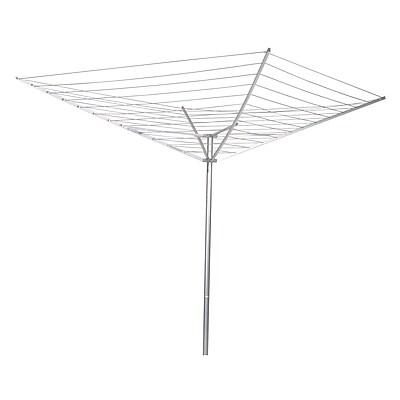 Household Essentials® 12-Line Umbrella Outdoor Air Clothes Dryer, Aluminum