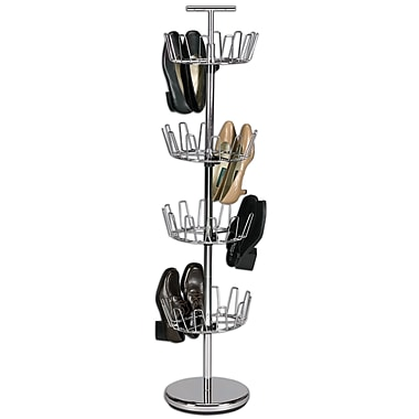 Household Essentials® 4-Tier Revolving Shoe Trees