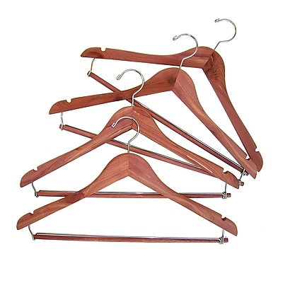 Household Essentials® Cedar Fresh™ Hanger With Locking Trouser Bar