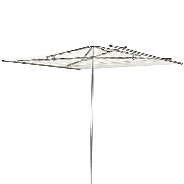 Household Essentials® Mid-Size 30-Line Parallel Outdoor Clothes Dryer, Aluminum