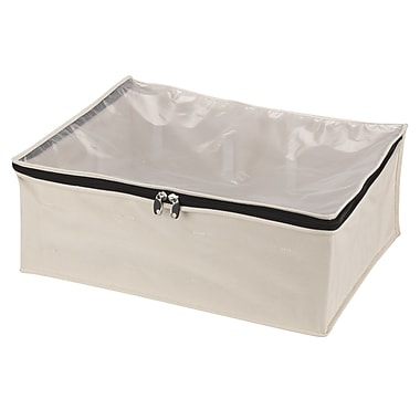 Household Essentials® Cedarline Zippered Blanket Storage Bag, Natural