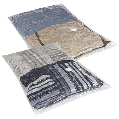 Household Essentials® MightyStor® Jumbo Flat Bag, 2-Piece