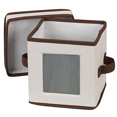 Household Essentials® Saucer Storage Chest, Natural