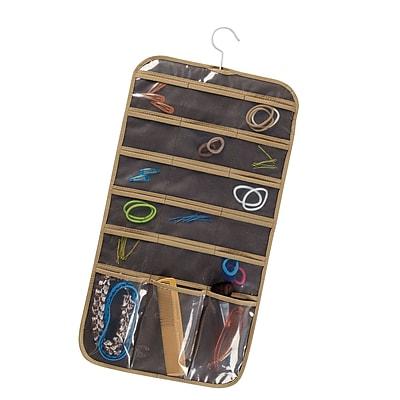 Household Essentials® Jewelry Stocking Organizer Set, Coffee Linen