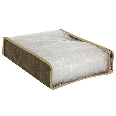 Household Essentials® Sweater Bag, Coffee Linen, 2/Set