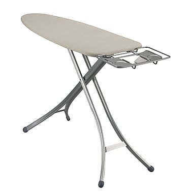 Household Essentials Lightweight Wide Top Ironing Board, Aluminum leg