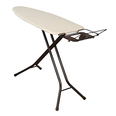Household Essentials Mega Wide Top Ironing Board, Antique bronze