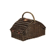 Household Essentials® Fully Lined Square Shaped Basket, Willow Picnic
