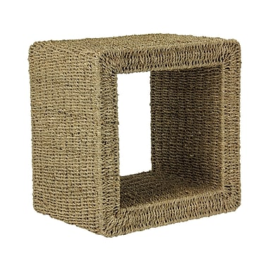 Household Essentials® Seagrass Mid-Size End Table, Natural