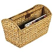 Household Essentials® Banana Leaf Magazine Rack, Natural (ML-6017)
