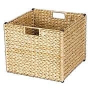 Household Essentials® Banana Leaf Storage Bin, Natural (ML-6966N)