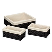 Household Essentials® 3/Set Paper Rope Utility Baskets