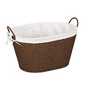 Household Essentials® Paper Rope Laundry Basket With Liner & Handles (ML-7067)