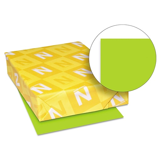Wausau Paper Astrobrights Card Stock