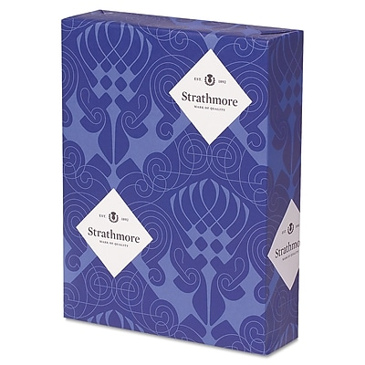 Strathmore® 24 lbs. Pure Cotton Paper, 8 1/2