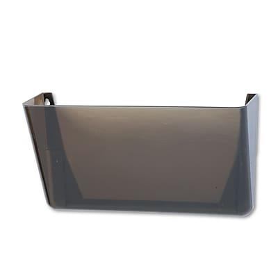 Rubbermaid® Letter Stak-A-File Single Wall Pocket, Smoke
