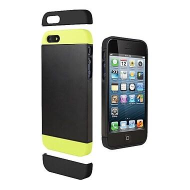 Cygnett Alternate Two Tone Dockable Case For iPhone 5 + 5s, Black/Lime