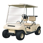 Classic Accessories® Fairway™ Portable Golf Cart Windshield, White/Clear